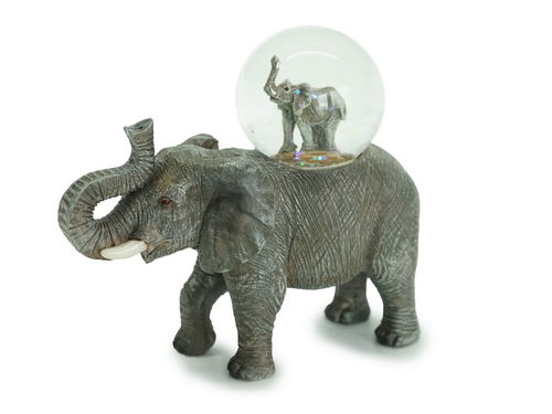 Glitzerkugel Elefant