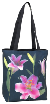 Shoppertasche Lilien
