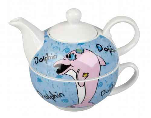 Tea for one Delfin