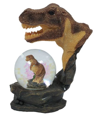Glitzerkugel T - Rex